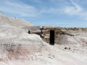 San Rafael Swell -  Mine Shaft