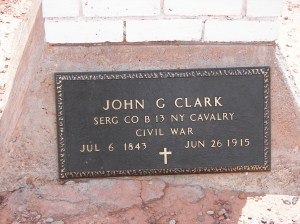 John G Clark Memorial Cross, NV